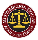 multi million dollar advocates forum logo